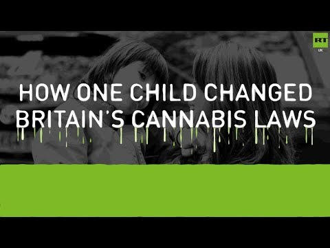How one child changed Britain's cannabis laws