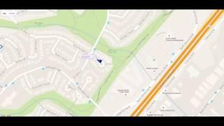 Geotab Active Tracking: Cul-De-Sac