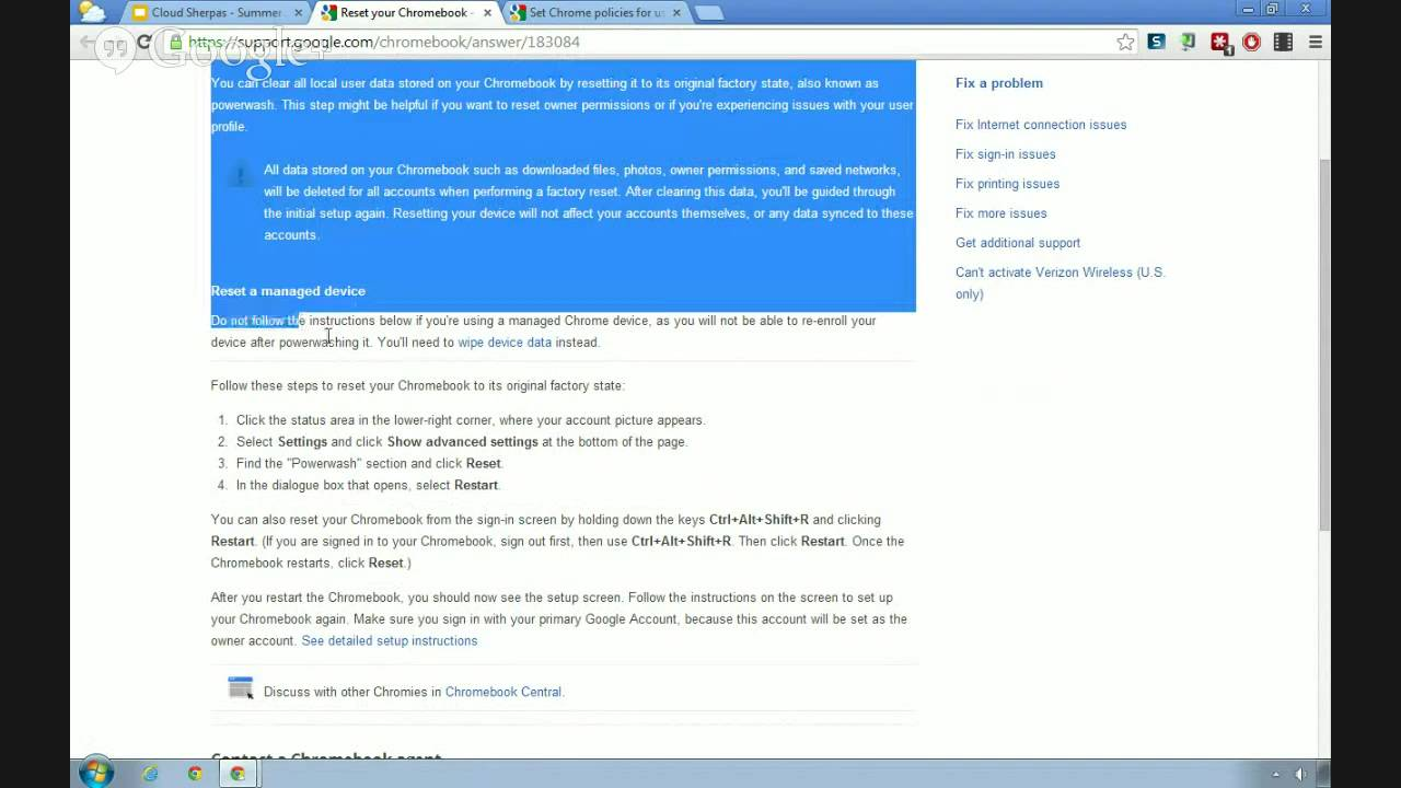 Chromebook Management (Admin Training Week)