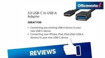 Belkin 3 0 USB C to USB A Adaptor