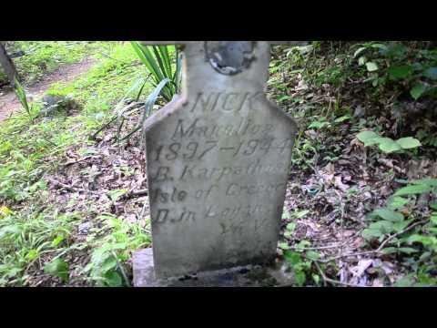 Hatfield Cemetery Outside Sarah, Ann, WV