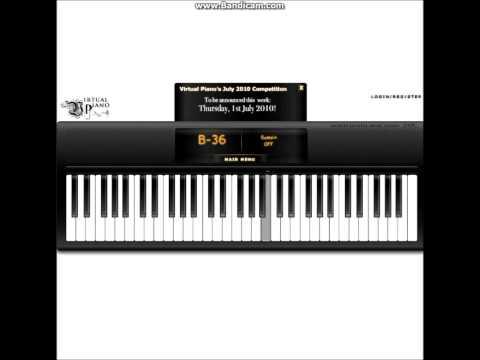 Virtual piano  - Love Story Beethoven