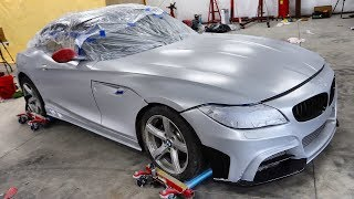 DIY Painting The Budget Z4 Build!
