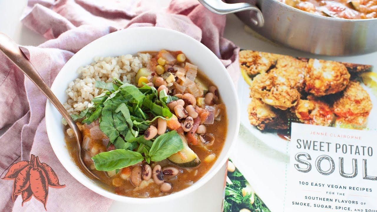 Easy vegan lunch black eyed pea gumbo youtube easy vegan lunch black eyed pea gumbo forumfinder Image collections
