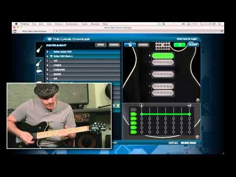 The Music Man Game Changer Guitar Demo