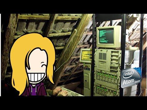 Atom Based Home File Server MEDIA + Games server VLOG