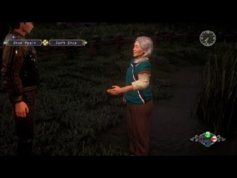 Shenmue III 100 Logs Chopped For the Old Lady |