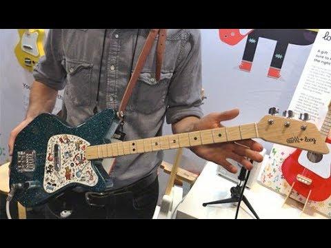 SNAMM '18  - Loog Guitars Paul Frank Edition & Mini Amp Demos