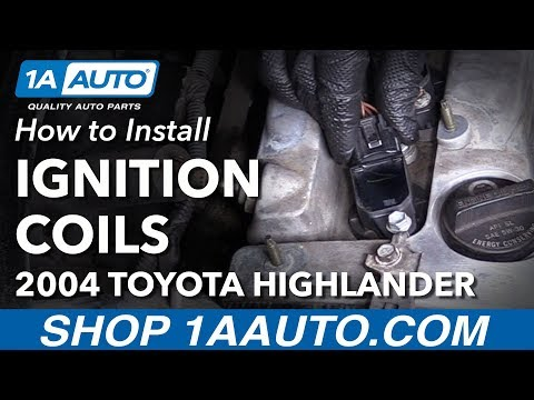 How to Install Replace Ignition Coils 2004-07 Toyota Highlander