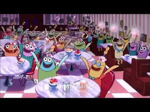 Presidents portrayed by Spongebob