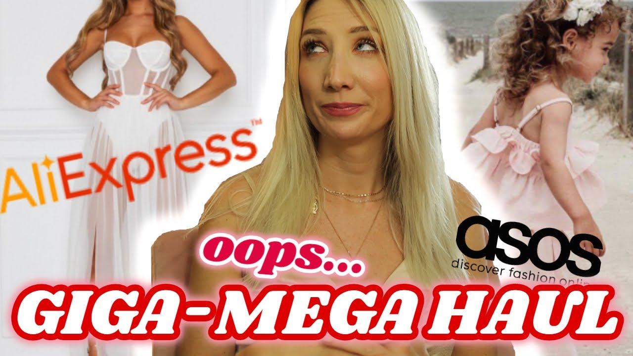 GIGA-MEGA ALIEXPRESS HAUL | ASOS | ALEXY VIVI