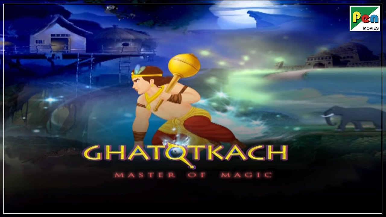 Ghatotkach Animated Movie With English Subtitles | HD 1080p | Animated Movies For Kids In Hindi