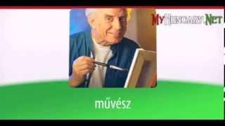 Видео уроки венгерского языка в картинках. Тема - Поговорим о хобби