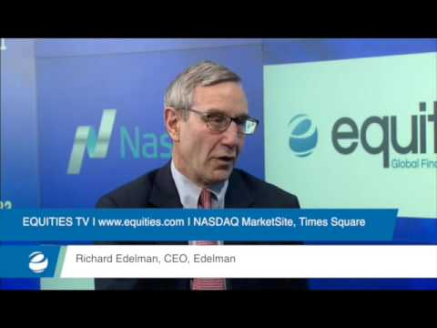 Breaking the Glass Ceiling – Richard Edelman, CEO of Edelman