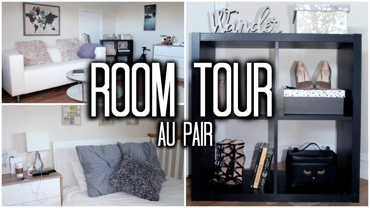 Au Pair Life: ROOM TOUR!!   Mi Habitación En USA - YouTube