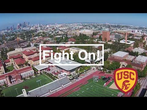 USC Campus Drone Tour