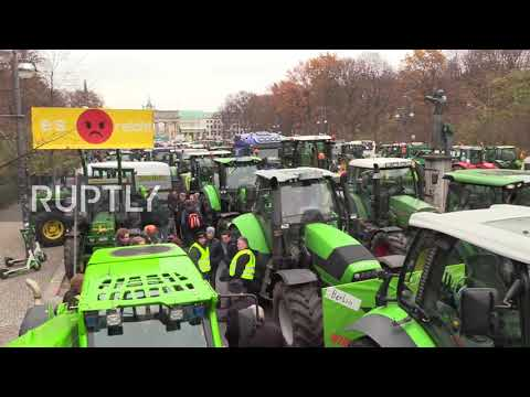 Germany: Tractors block Berlin in agricultural policy dispute