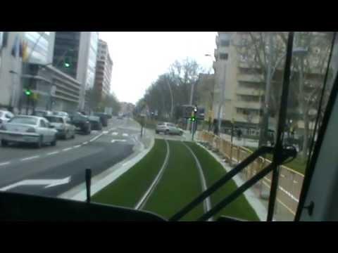 Transporte Público de Zaragoza. El Tranvía. Por José Luis.