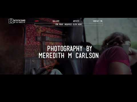 Stunning Photography Portfolio Website