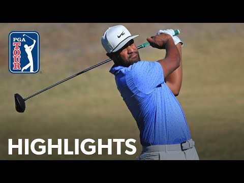 Tony Finau shoots 4-under 68 | Round 1 | The American Express | 2021