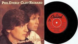 Cliff Richard & Phil Everly ~ REAL ROCK & ROLL  ~  LIVE  !