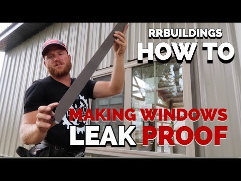 Make your windows leak proof: How to Trim a Window