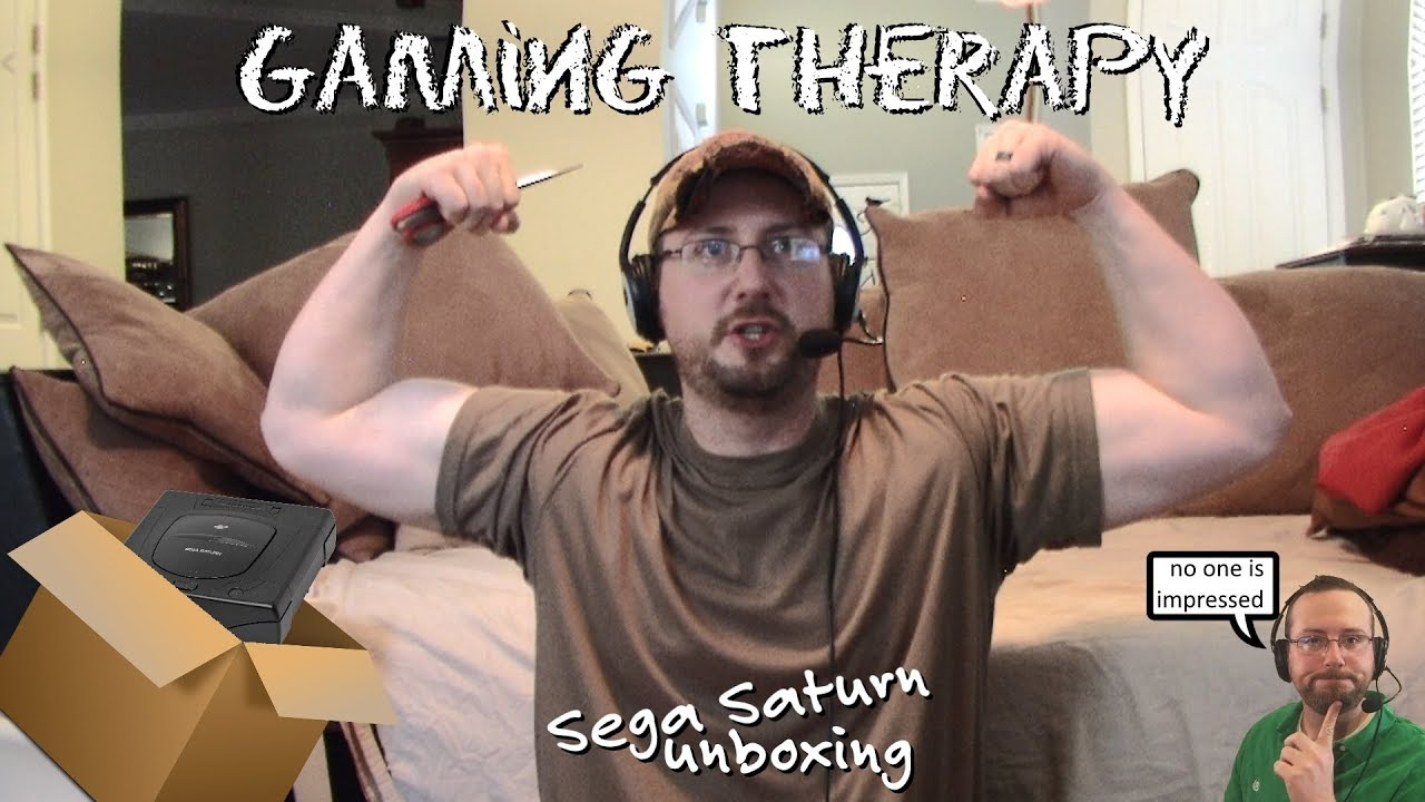 Gaming Therapy - Episode 2: Sega Saturn Lot Unboxing