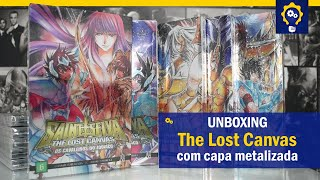 The Lost Canvas com capa metalizada - edições 6, 7, 8, 9 e 10 | Mangás JBC | Unboxing