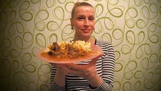 Вкусный гуляш из говядины с подливкой рецепт Секрета приготовления блюда