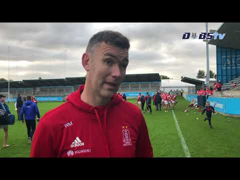 Cuala Manager Willie Maher speaks to DubsTV after winning Dublin Senior A Hurling title