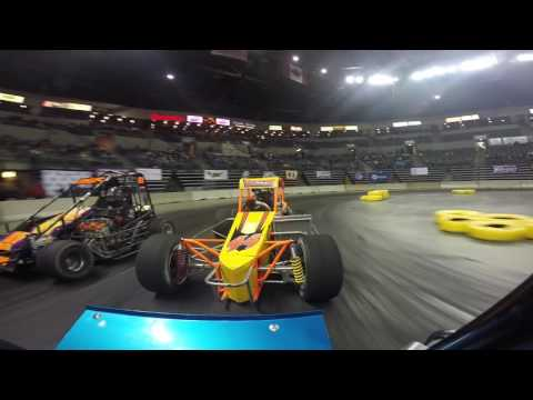 TQ at battle of Trenton indoor racing