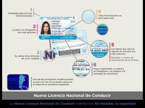 ¿Cómo es la nueva Licencia Nacional de Conducir?