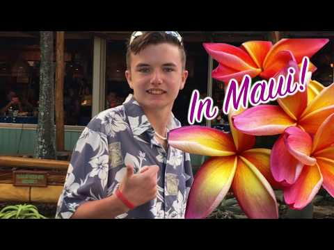 Matteo Speaks • Autistic Teen Inspires • Ep. 47 • Mama's Fish House, Maui Review