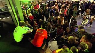 Hockeyfestijn THCC de Kromhouters bij Volvo-dealer Henk Scholten