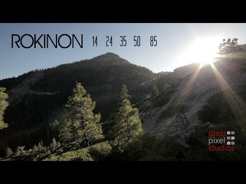 Rokinon 14mm / 24mm / 35mm / 50mm Cine DS Lens Test Footage