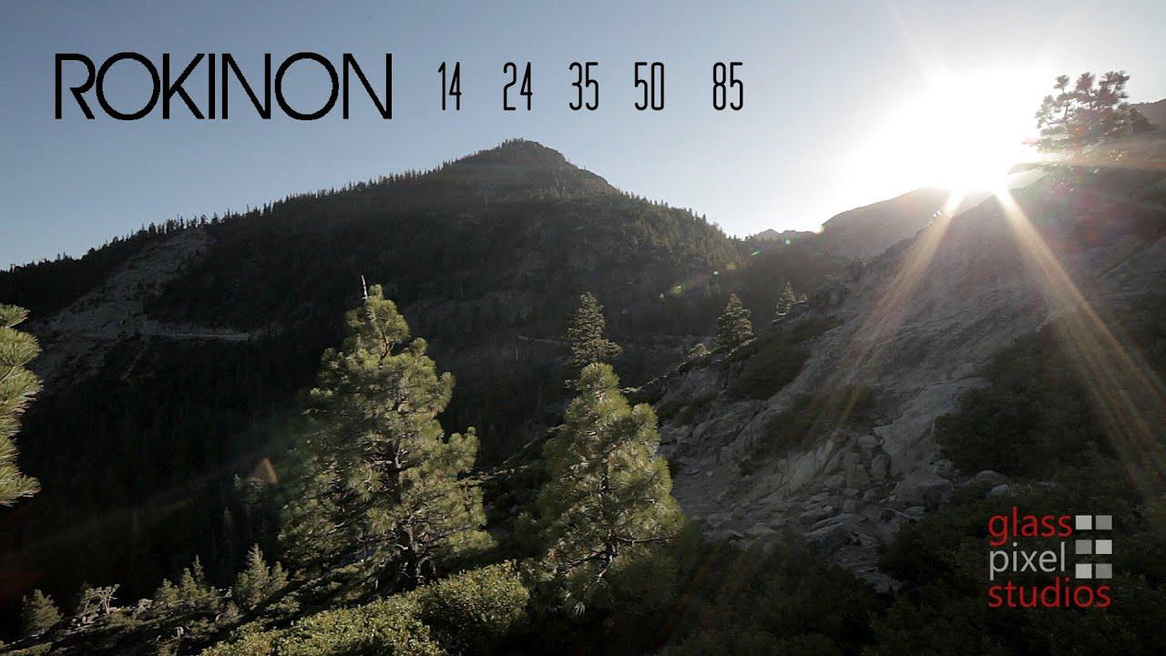 Rokinon 14mm 24mm 35mm 50mm Cine Ds Lens Test
