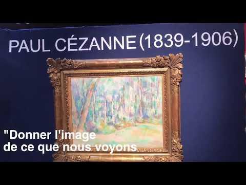 Vu à Drouot Paul Cezanne