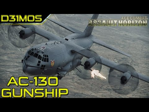 Ace combat Assault Horizon: #4 Ac-130 Gunship!