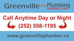 Plumber Greenville, NC (252) 558-1195 | 24-Hour Service Plumbing Company