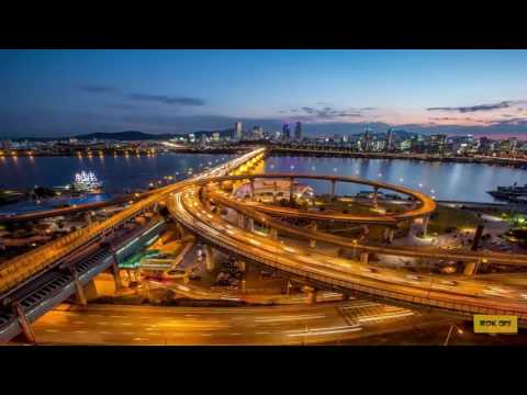 「 Travel」- Seoul Sky Lines - Timelapse to night