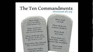 Thumbnail: Ten Commandments