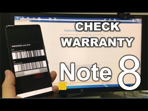 How to check the Warranty Status of your Samsung Galaxy Note 8