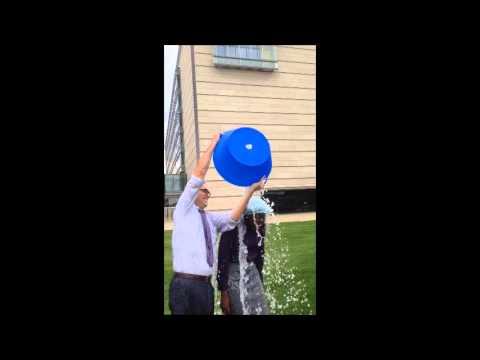 ALS Ice Bucket Challenge at UMass Medical School, Quinn, Owegi, McKennaYasek