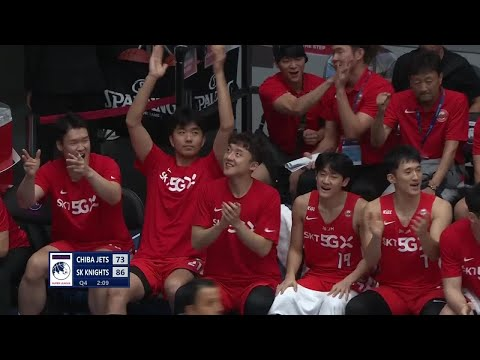 Chiba Jets vs Seoul SK Knights - Full Game Highlights | Group Stage | THE TERRIFIC 12 2019