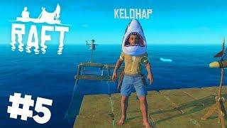Žraločí hlava 🦈 a obří GRILL! [GEJMR] RAFT #5