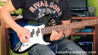 Hard To Concentrate - RHCP - Guitar Lesson by Lane Argue