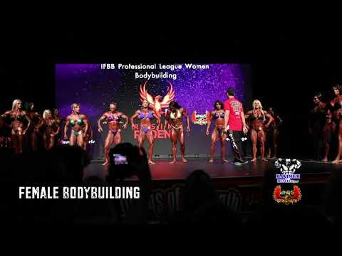 First Call Outs | Women's Bodybuilding at IFBB Pro. League Rising Phoenix World Championships 2019