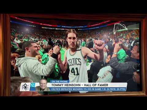 Celtics Hall of Famer Tommy Heinsohn Breaks Down the Secret to Boston's Success - 5/16/17