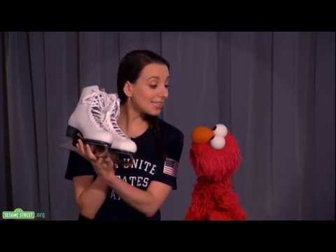 Sesame Street: Elmo and Team USA Gold Medalist Sarah Hughes Discuss Persistence