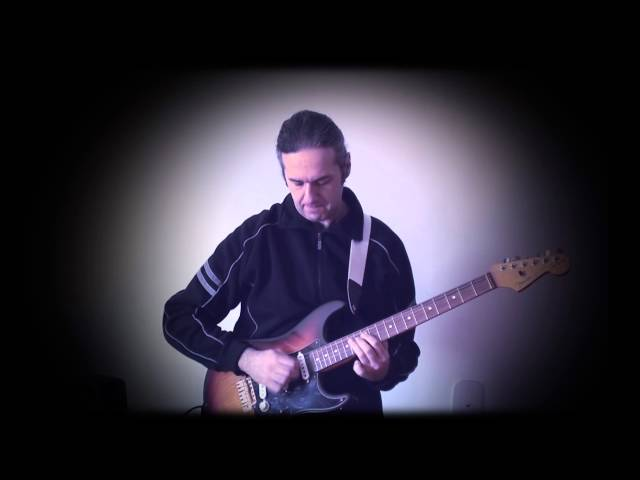 MARCELLO ZAPPATORE plays SCUTTLE BUTTIN' by Stevie Ray Vaughan
